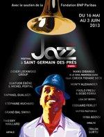 Festival Jazz à Saint-Germain-des-Prés Paris du 16 mai au 3 juin 2013