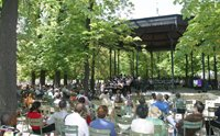 Concert de Jazz au kiosque du jardin du Luxembourg